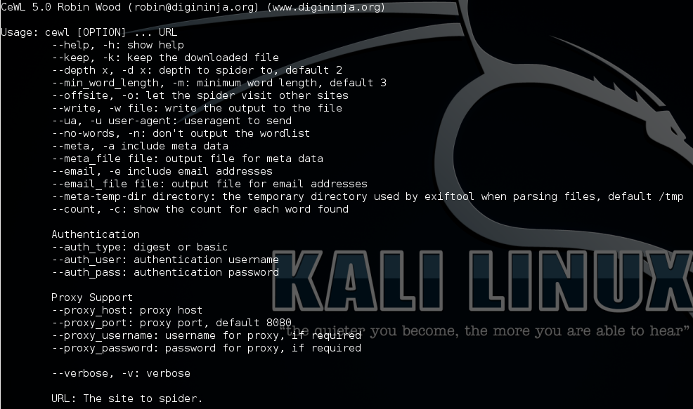 Kali tools catalog - Password Attacks - Core dump overflow