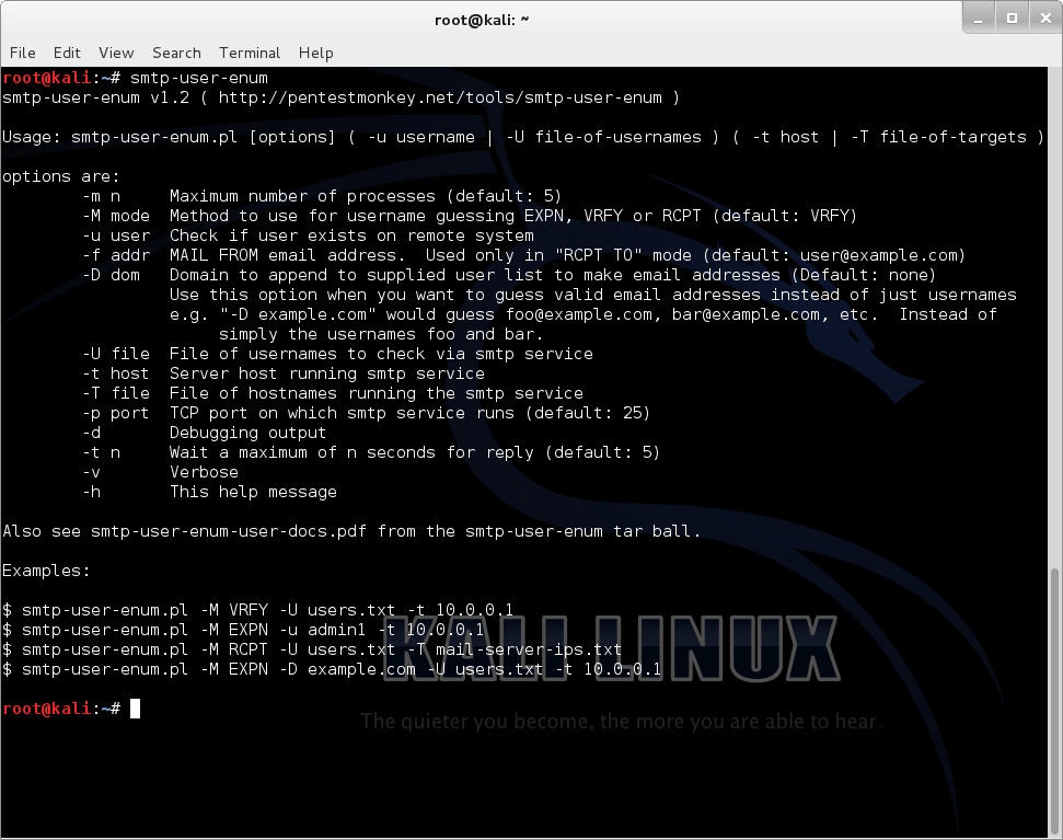 Kali tools catalog - Information Gathering - Core dump overflow