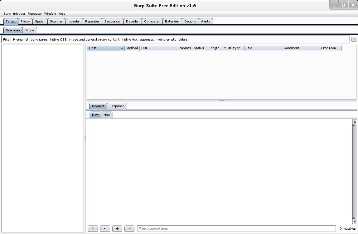 Kali tools catalog - Web Applications - Core dump overflow