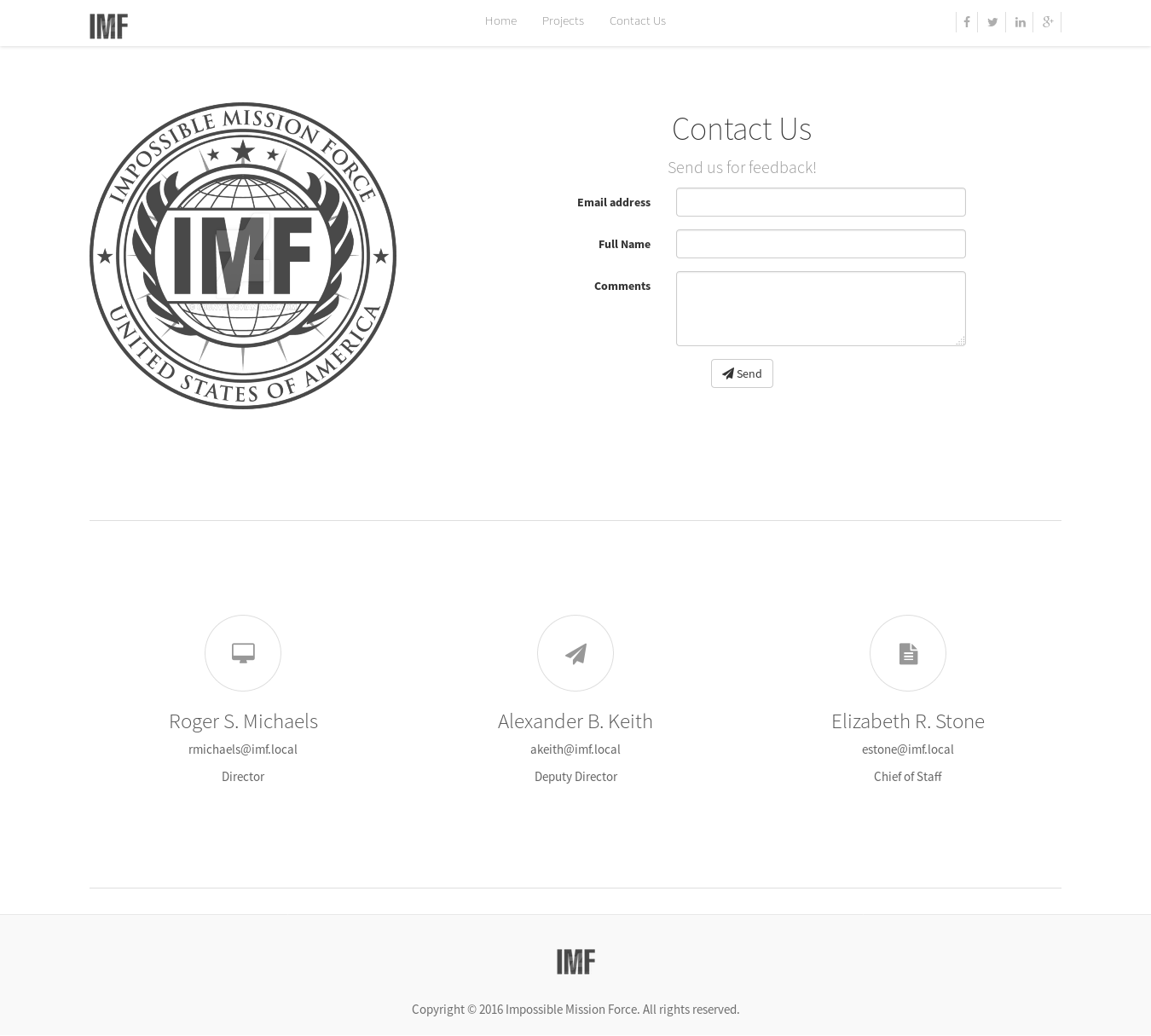 imf contact